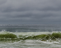Waves at Alamere Falls