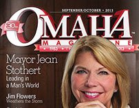 Omaha Magazine • Cover Concepts/Designs