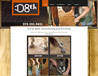 D8th (DeAeth) Horseshoeing Website