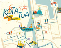 Kota Tua & Glodok Map for iDiscover