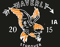 Mumford & Sons GOTR 2015 Waverly, IA Stopover