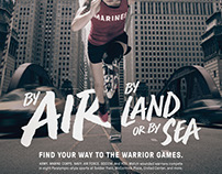 DOD Warrior Games Ad Campaign