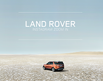 LAND ROVER Instagram Zoom In