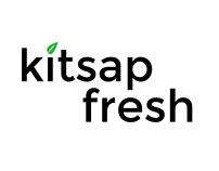 Kitsap Fresh Logo Mockup - Digital Arts II