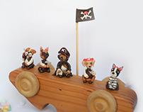 Bigbox Clay model Pirate.