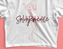 Salvajemente Libre | T-Shirt Design