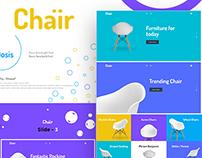 Chair web concept