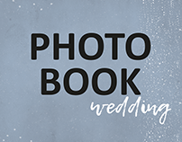Hipster wedding photo book