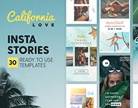 Instagram Stories - California Love Ed.