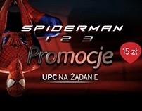 UPC On Demand Spiderman promo