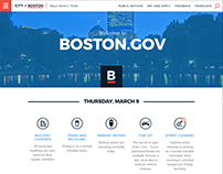Redesigning Boston.gov