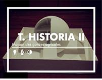 T. Historia II: Maison des gardes agricoles / ARQU-1202
