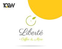 Libertê Coffee & More Branding