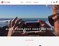 Olloclip Web Design