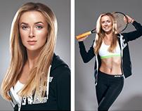 Professional tennis player Elina Svitolina