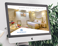 Development of Web design for hotel