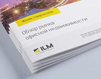 """Буклет """"Обзор рынка офисной недвижимости"""" компании ILM"""