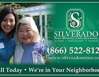 Silverado Senior Living Vehicle Magnet - Graphic Design