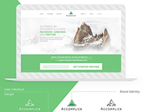 Software Startup Brand Identity and Web Design
