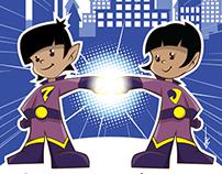 Resultado de imagem para supergêmeos