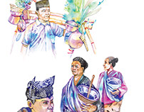 Osing Tribe Illustration Book