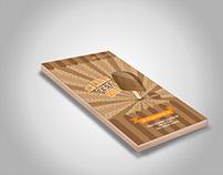 Unique branding leaflet