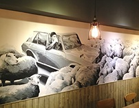 Wild Sheep Chase - Mural