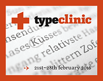 Join TypeClinic's 12th type design workshop!
