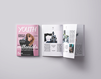 Youth Magazine Layout