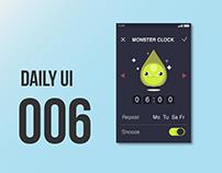 Daily UI Clock Settings
