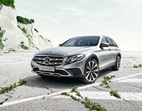 Mercedes E-Class Allterrain Campaign