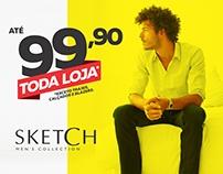 Campanha Toda Loja até R$99,90 - Sketch Men's Collectio
