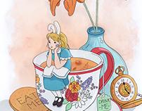 Tribute to Alice in Wonderland