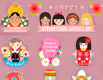 Snapchat International Women's Day Filters and Stickers