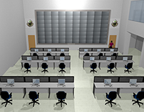Mina Control Room - Public Security Makkah