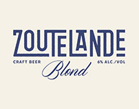 Beer label Zoutelande Blond