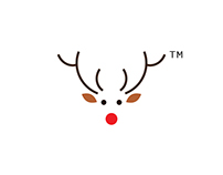 Reindeer Minimalist Logo Design