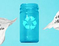 Afiche de reciclaje