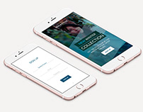 Lowa Boutique Simple Sign Up App - Personal Proyect.
