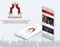 The Backstage mobile app by Appsinvo