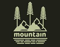 Mountain logo templates