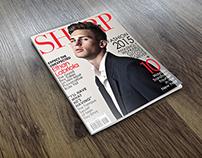 SHARP - Men's Fashion Magazine (Design Cover)