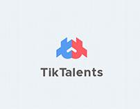tik talents branding