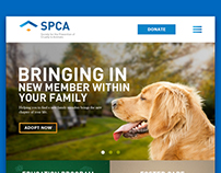 SPCA Logo & Website Redesign