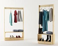 Beka hanger rack // Lufe