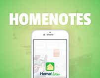 Homenotes iOS App for real estate agents