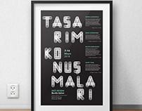 Design Talks Poster / School Project