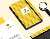 Imkerverein Bienengold Branding