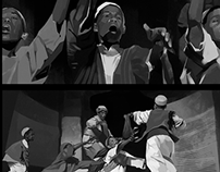 Movie, Storyboard Study: Fifth Element.