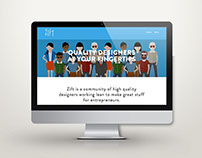 Zift: website design